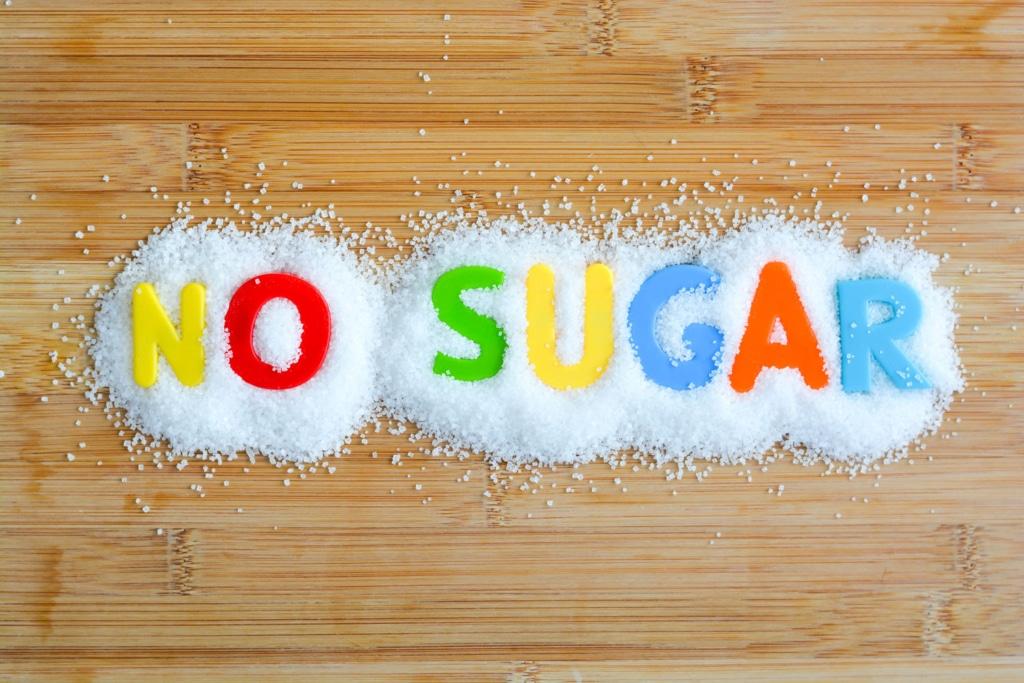 aliment sans sucre