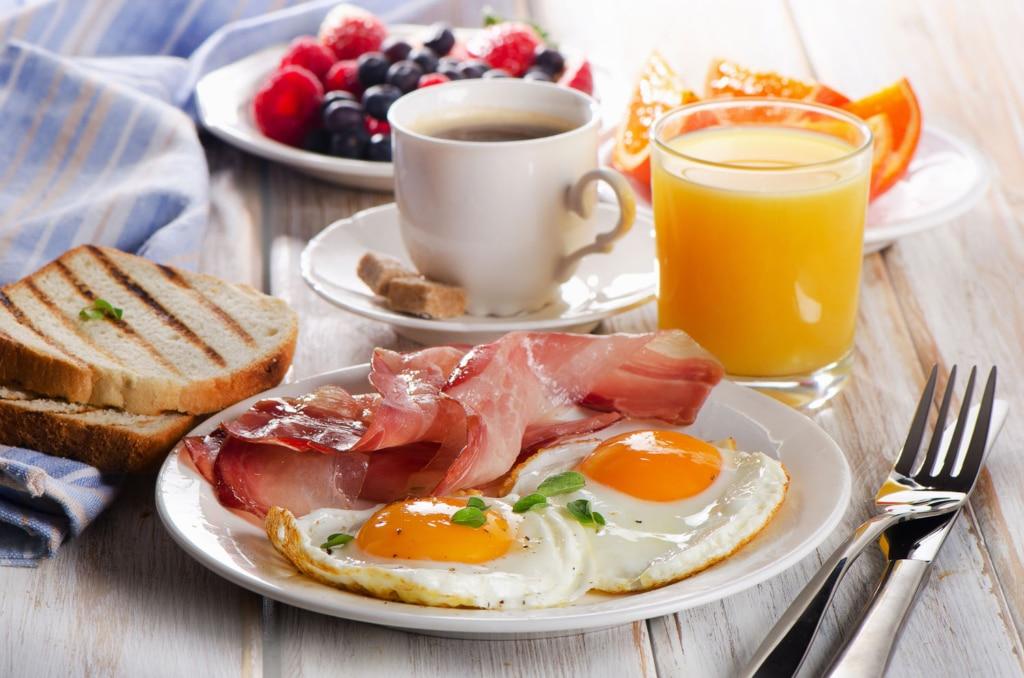 manger protéine le matin