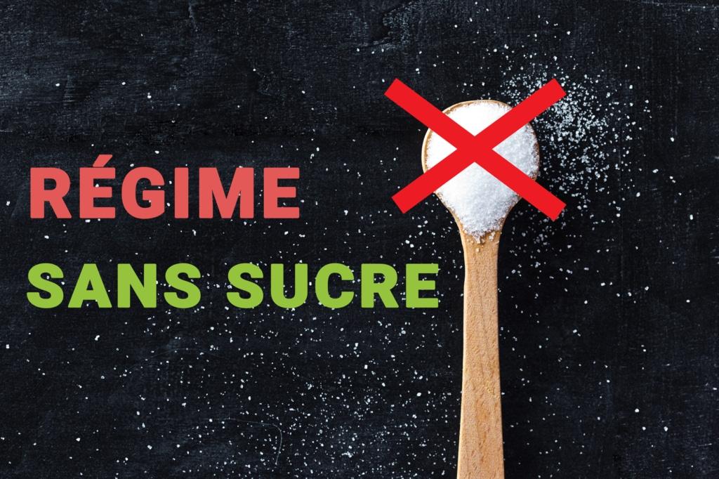 regime sans sucre